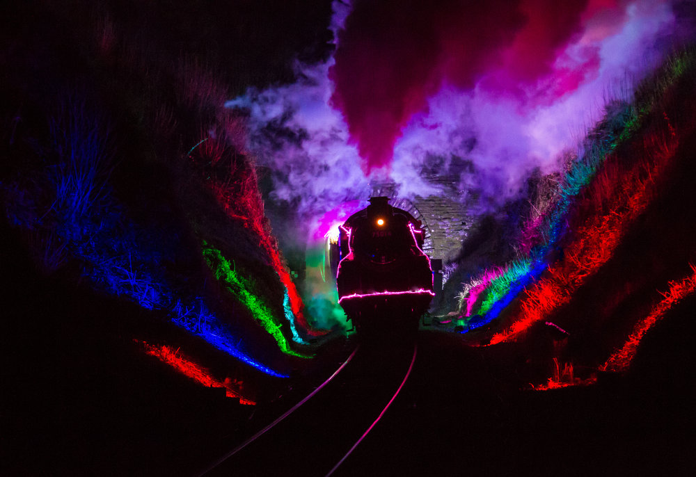 Train of Lights from Greenway tunnel 2.jpg