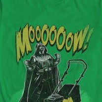 "Darth Vader says ""Moooooow"" from  We Love Fine"