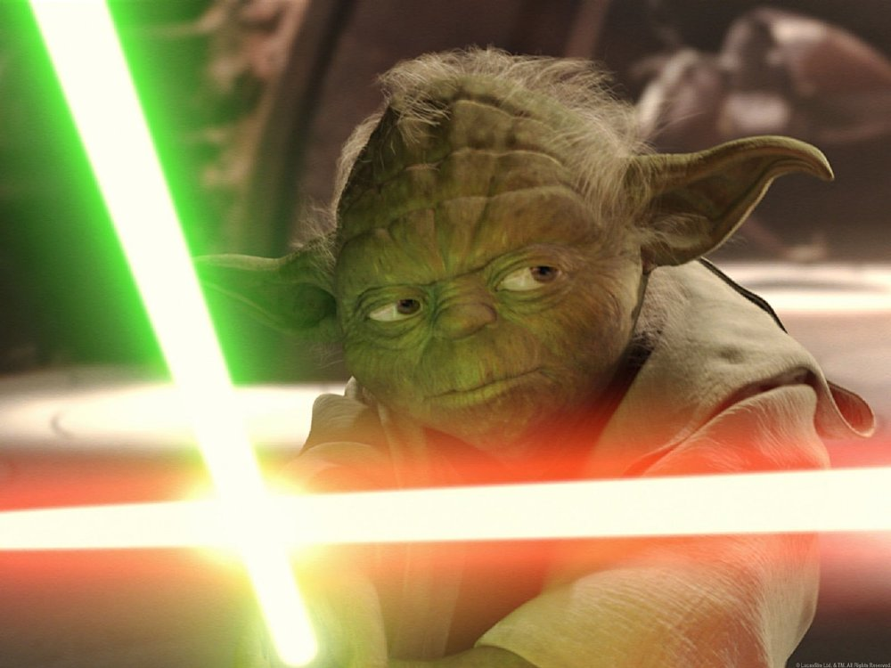 Yoda in  Star Wars: Attack of the Clones
