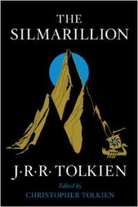 The new October 2014 cover of the Silmarillion as found at  Amazon .