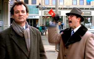 Ned Ryerson (Stephen Tobolowsky) iconic in Groundhog Day. Columbia-TriStar