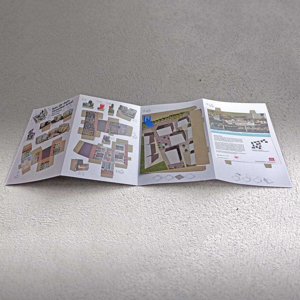 Viele Teile -ein Bogen - Auf einem Bogen mit 4 Seiten A4 finden alle vorgestanzten Teile bequem Platz und können mühelos herausgedrückt werden.