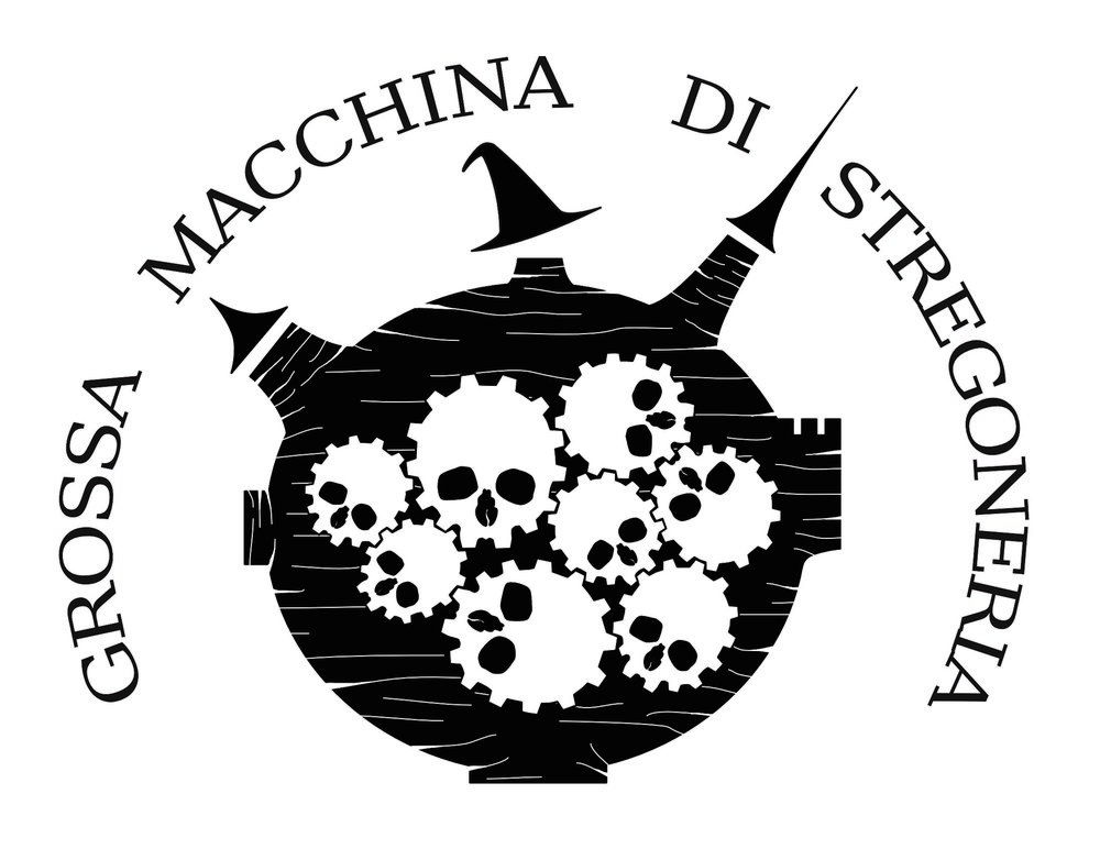 Grossa Macchina di Stregoneria - Una invisible máquina de brujería sobrevuela las aldeas de la Italia renacentista