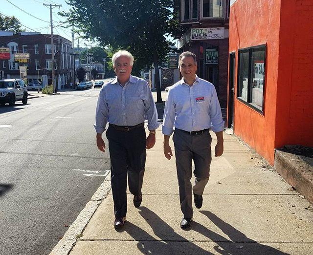 Great day to walk the streets of Haverhill and talk about issues in the acre neighborhood with Sheriff Kevin Coppinger!