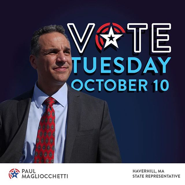 Vote Magliocchetti for a United #Haverhill.  #thisishaverhill #mapoli #united