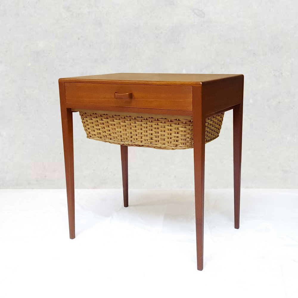 Circa Antiques | York, Pa | Showroom | Danish Sewing Table