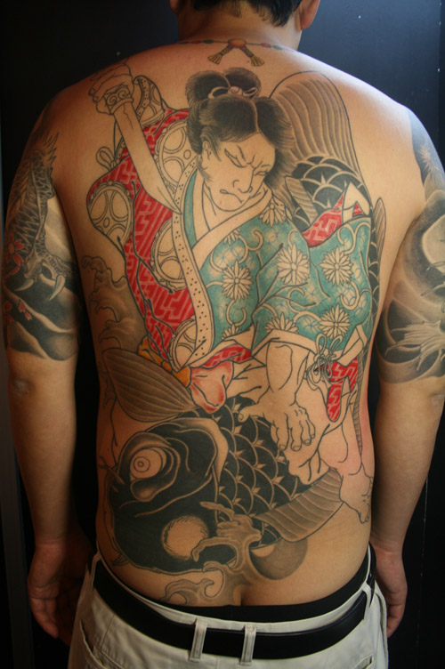 japanese tattoo back piece