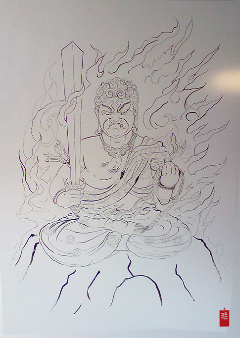 fudo_tattoo_flash_horitama_500