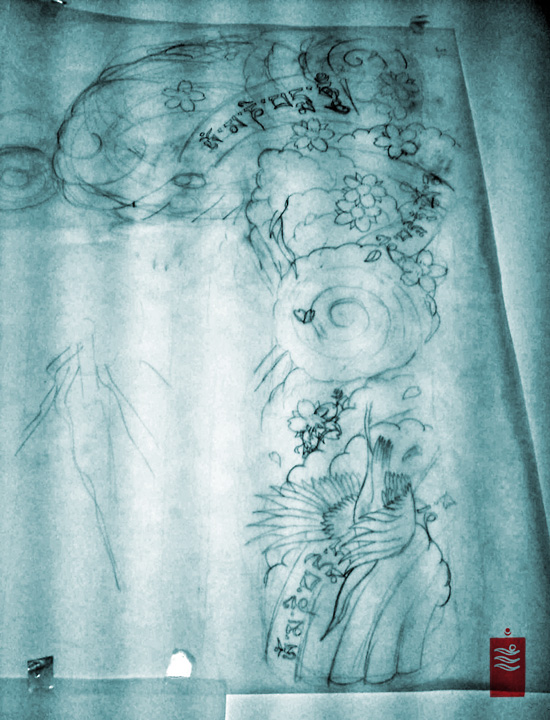 Japanese Sleeve blueprint