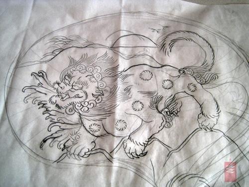 Lion Japanese Tattoo