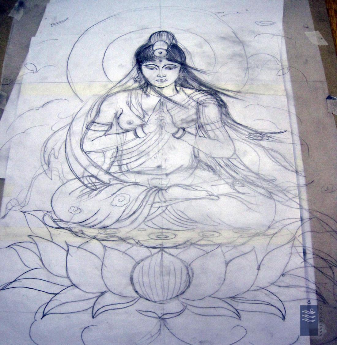 Kannon Goddess of Mercy