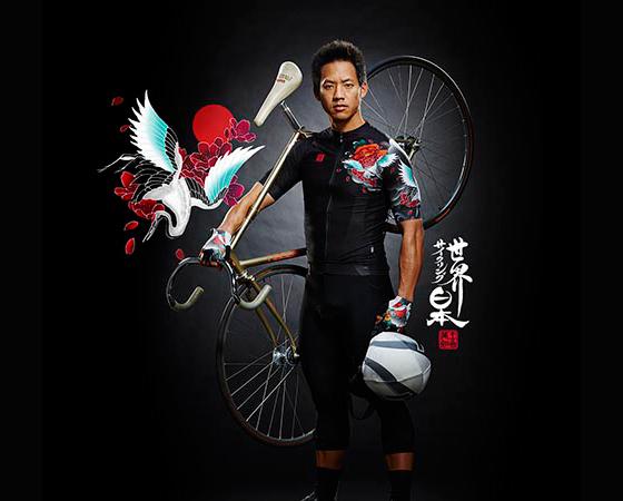 Japanese Tattoo Cyclist Shirt