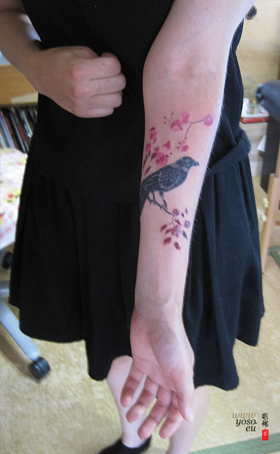 Japanese Tattoo - Crow Tattoo