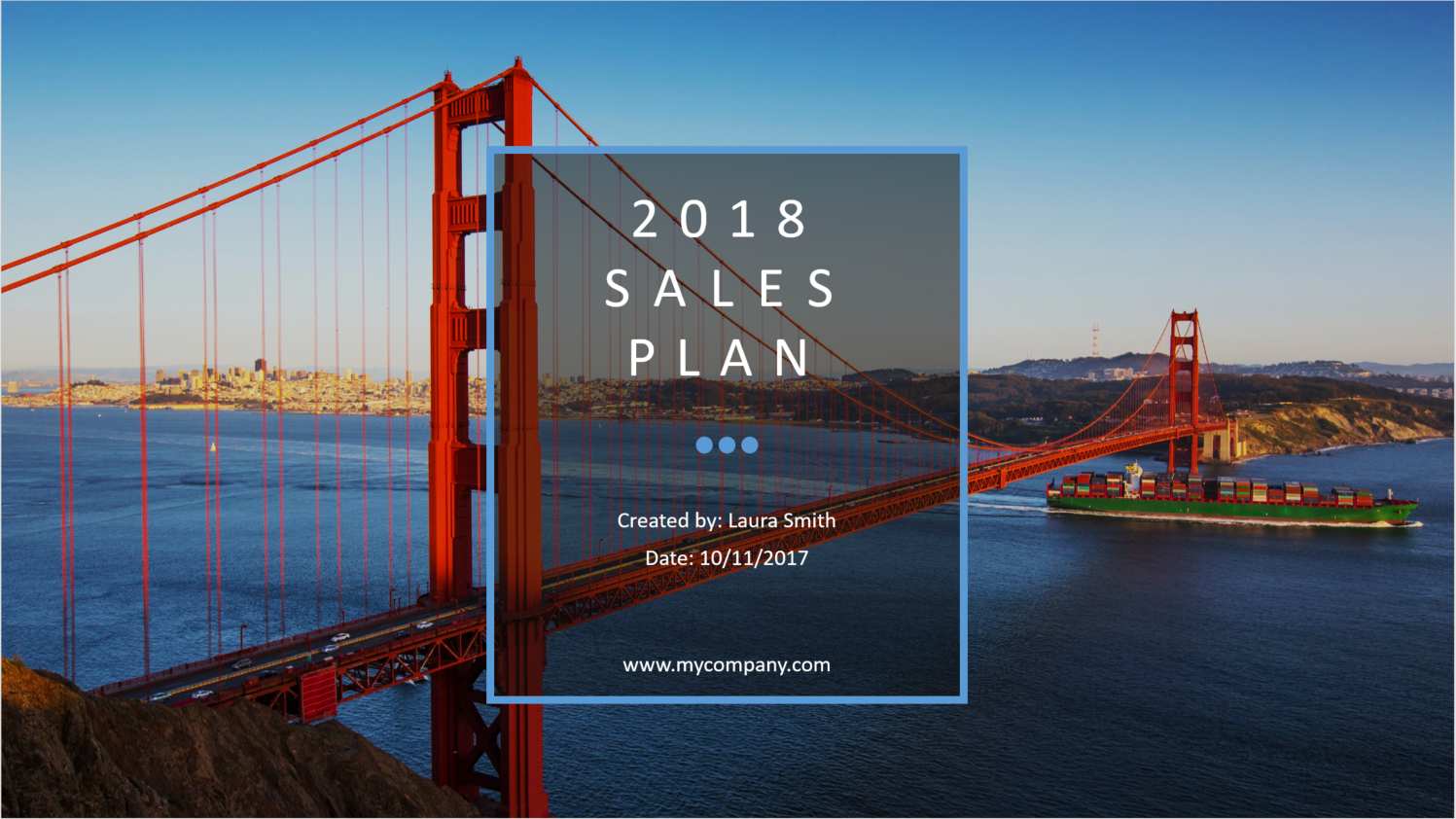 2018 sales plan template ptep - powerpoint — salesrake, Modern powerpoint