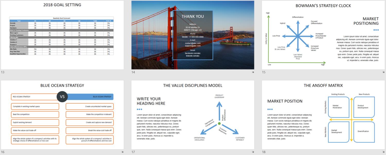 2018 Sales Plan Template PTEP PowerPoint SalesRake – Sales Strategies Template