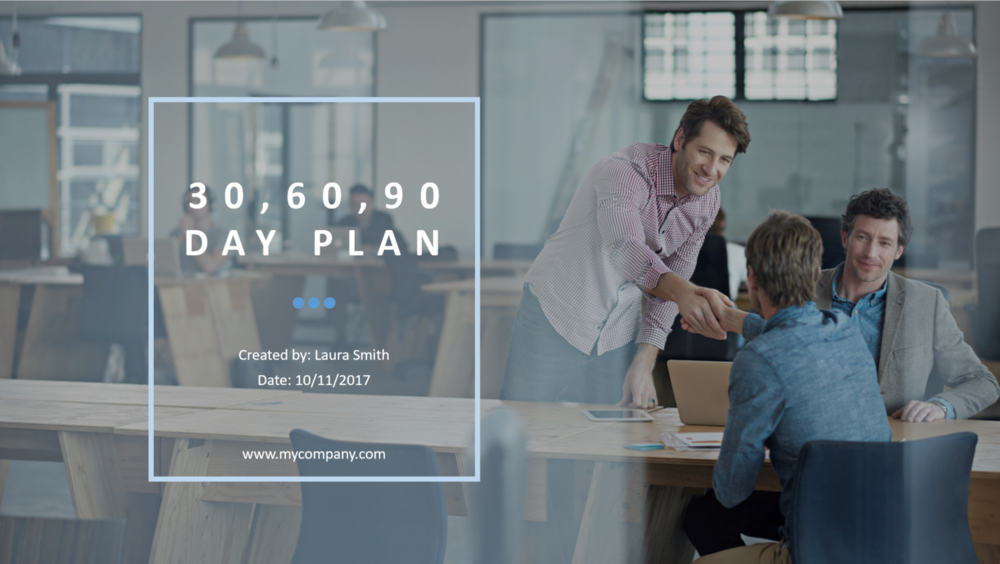 get hired 30 60 90 day sales plan