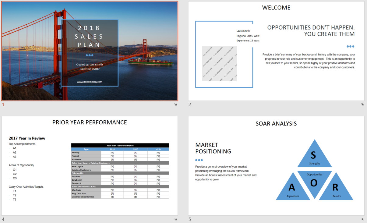 Strategy and Presentation Design 3