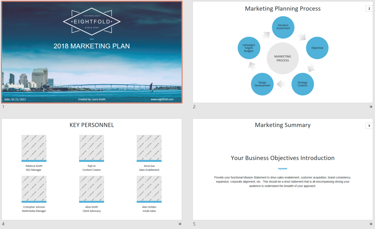 Strategy and Presentation Design 4