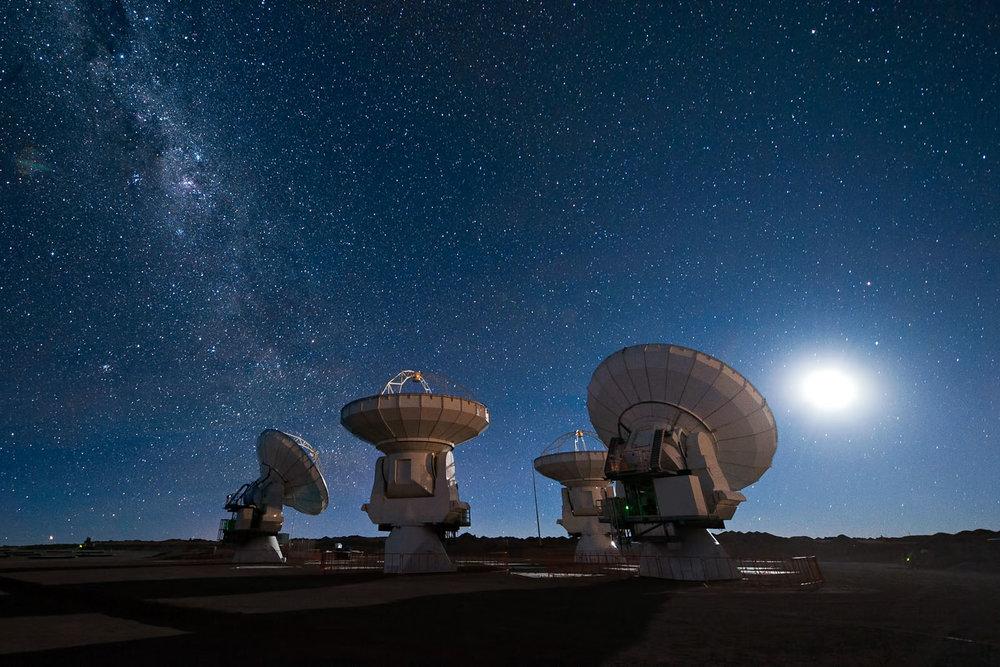 ALMA Array, Chile