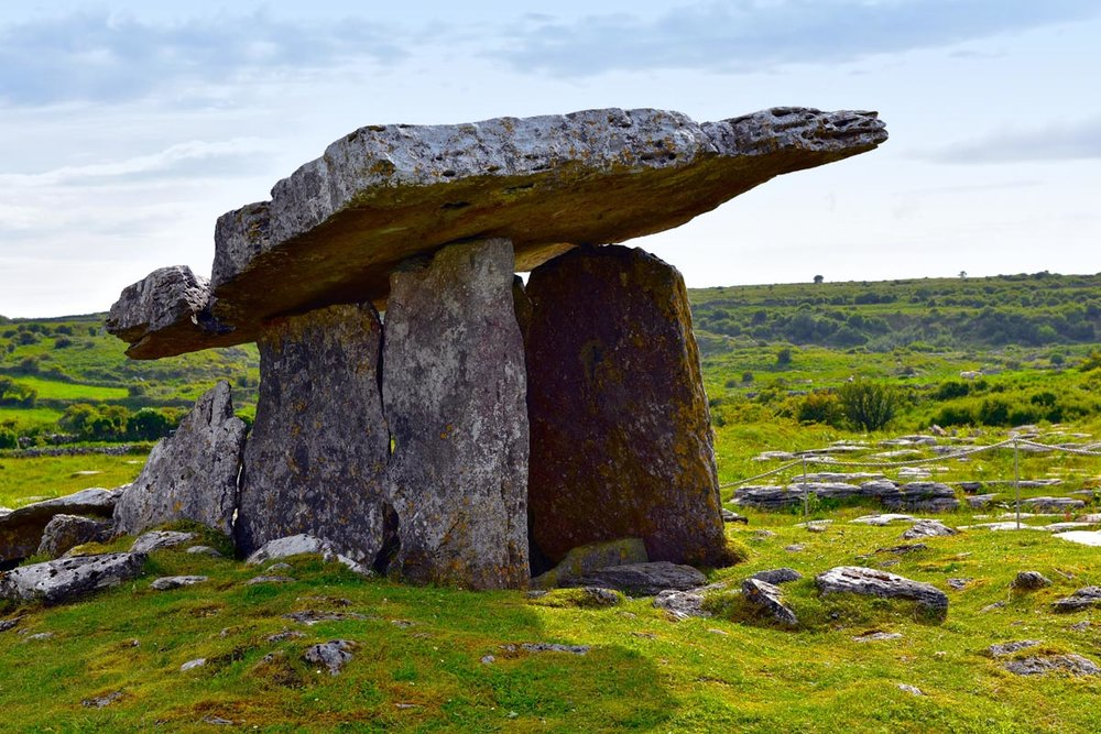 Neolithic tomb at the Burren, County Clare