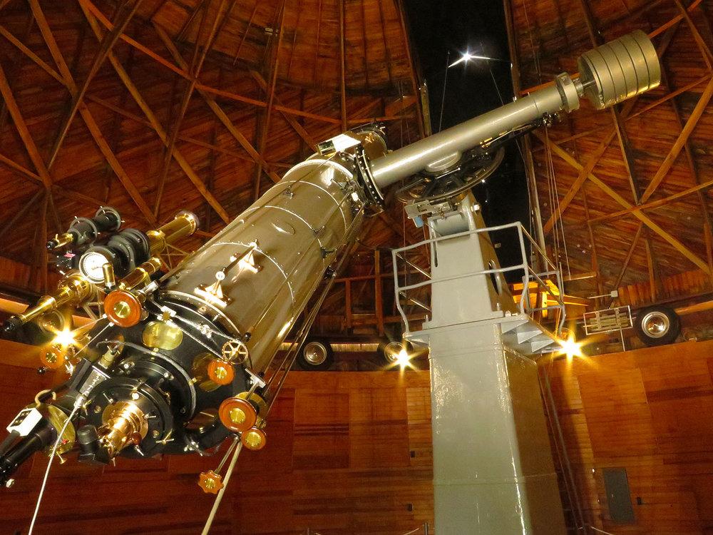 Lowell Observatory, Clarke Telescope / Packbj