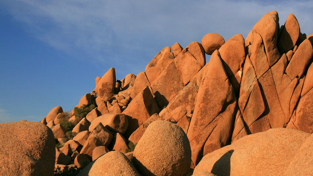 Giant Marbles in Joshua Tree National Park / Brocken Inaglory