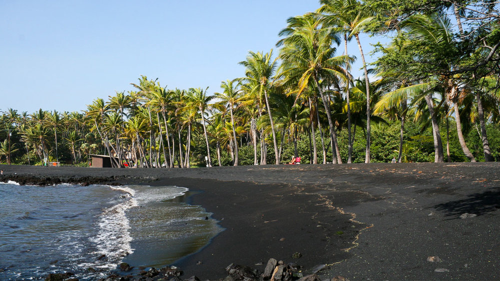 Punaluu Black Sand Beach, Hawaii / DiegoDelso