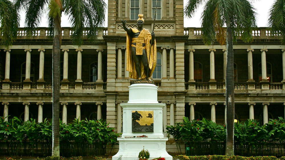 King Kamehameha Statue, Honolulu, Oahu / Balazs Barnucz