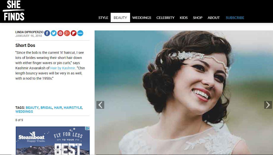 2018 Bridal Trends — Hair by Kashmir