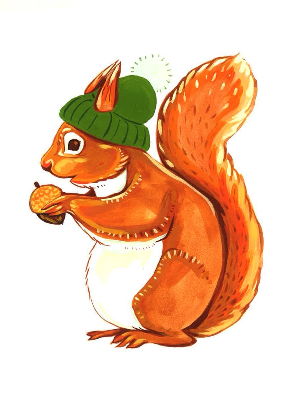 Toque Squirrel