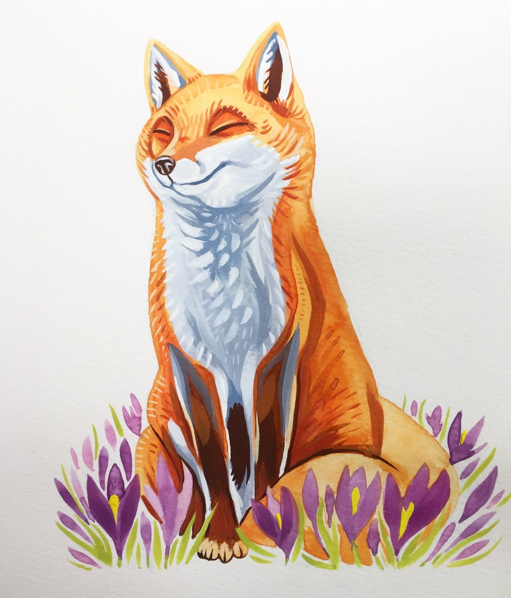Crocus Fox