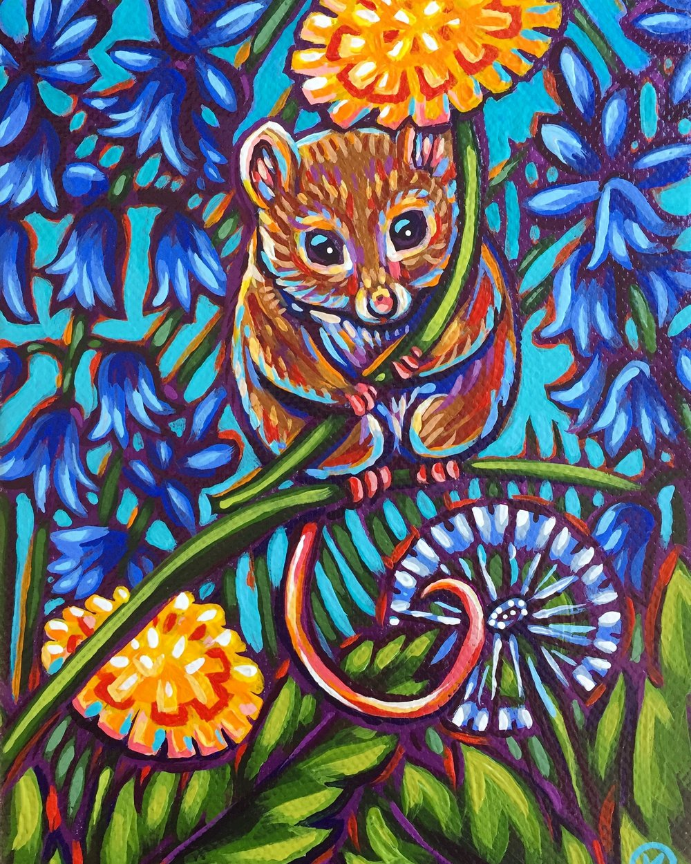 Dandelions and Bluebells 2017