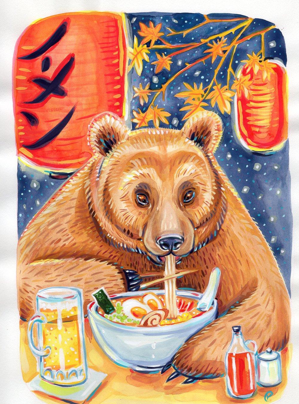 Ramen Bear