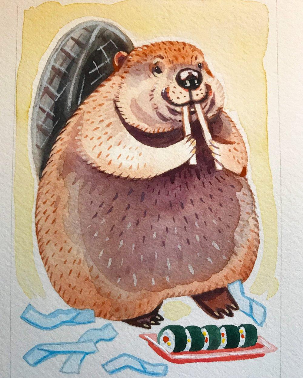 Sushi Beaver