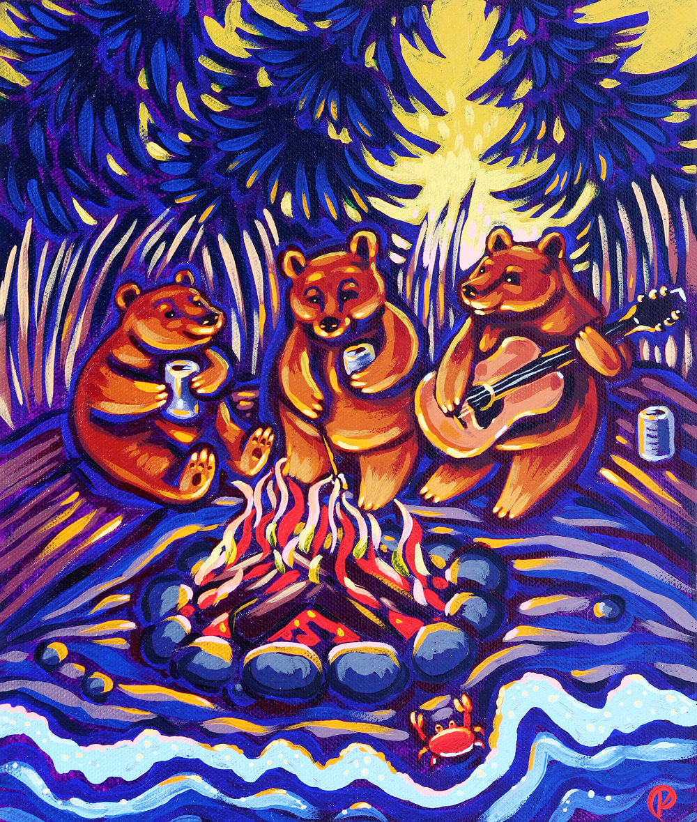 Bonfire Bears