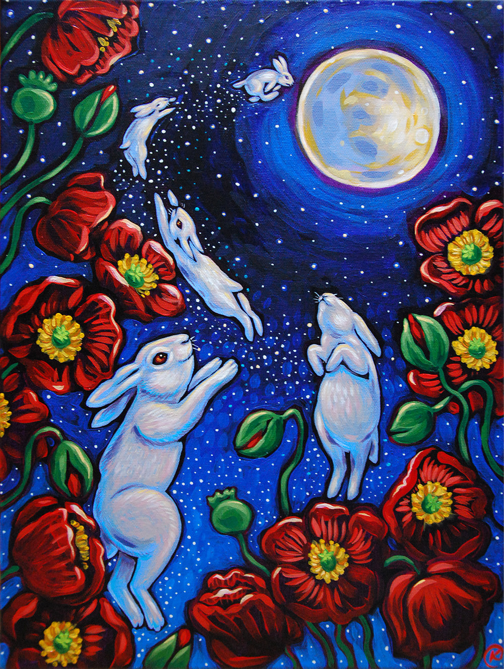 White Rabbits Return to the Moon 2019