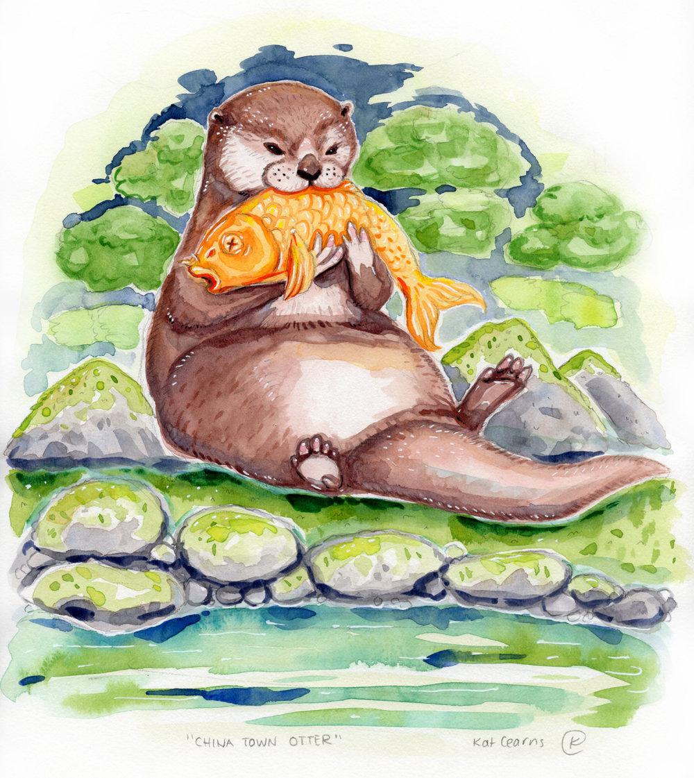 China Town Otter