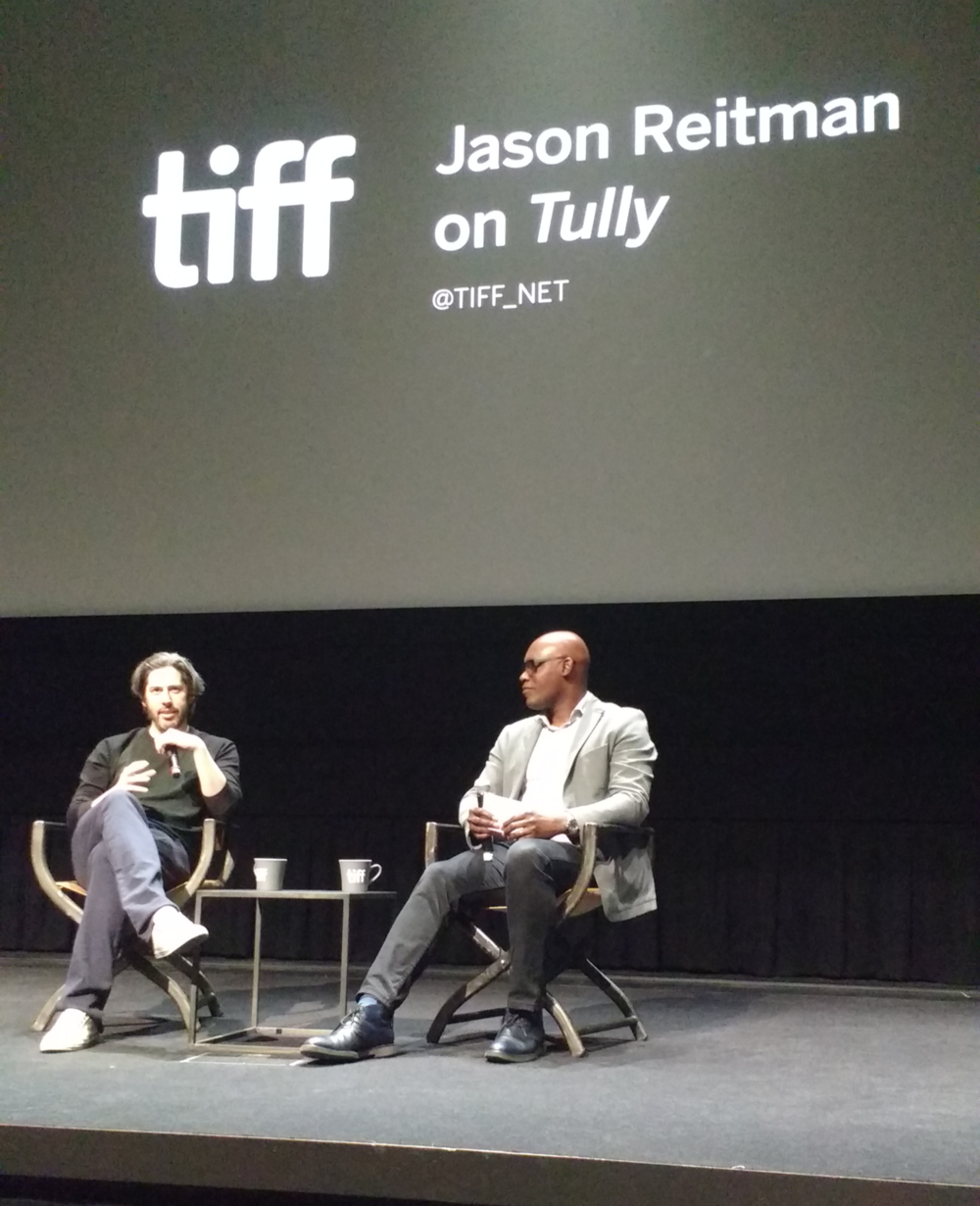 At the TIFF theatre in Toronto.