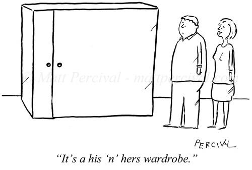 His 'n' Hers wardrobe