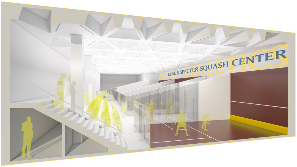 DREXEL UNIVERSITY SQUASH CENTER SECTION - OOMBRA ARCHITECTS