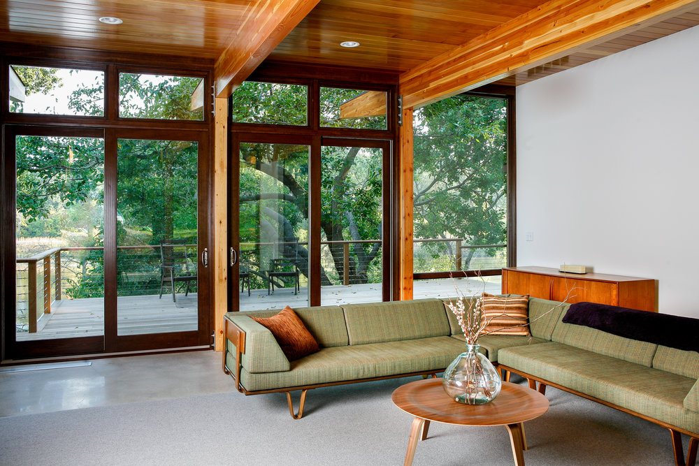 CARLSON RESIDENCE LT EAMES SOFA 2 - OOMBRA ARCHITECTS