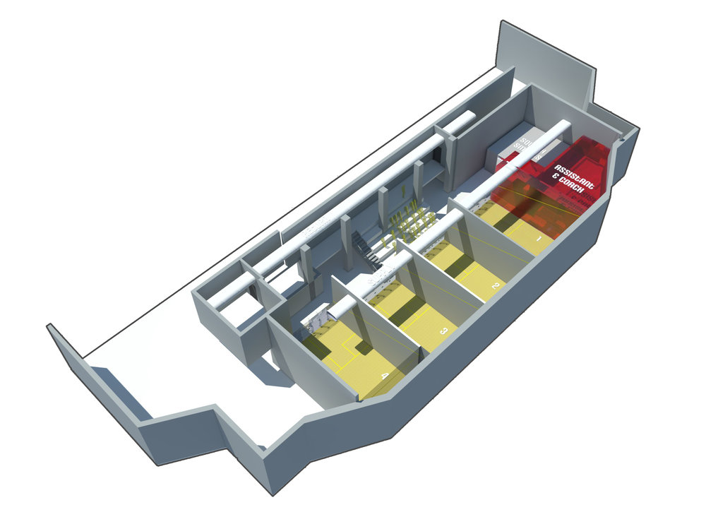DREXEL UNIVERSITY SQUASH AXON - OOMBRA ARCHITECTS