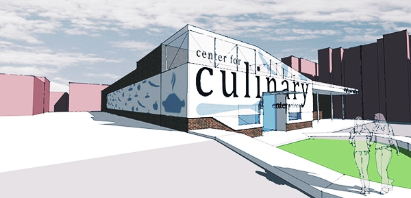 CENTER FOR CULINARY ENTERPRISES - DORRANCE H HAMILTON  EXTERIOR CONCEPT