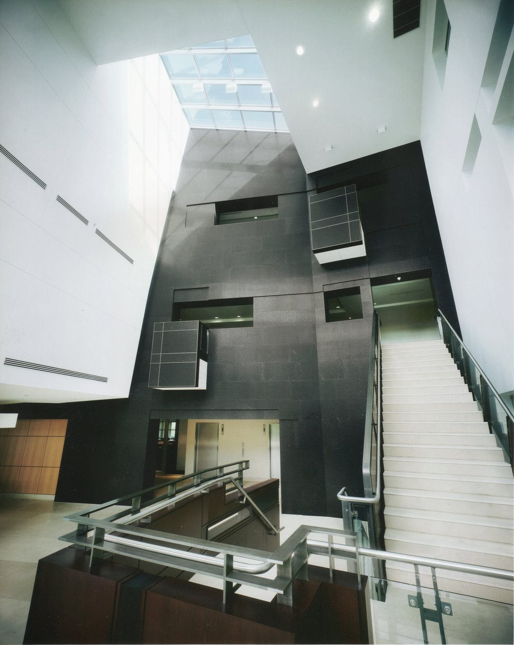 THREE-STOREY ATRIUM