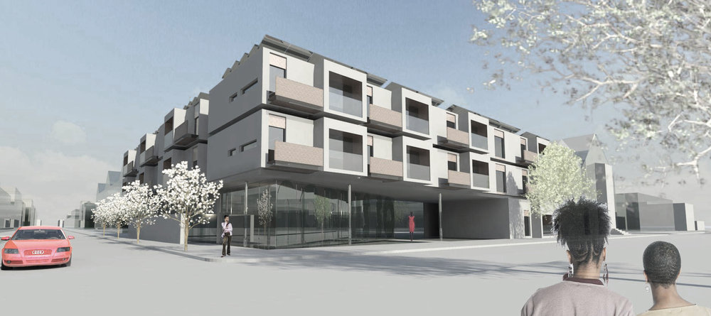 ST BONIFACE STREET VIEW - OOMBRA ARCHITECTS