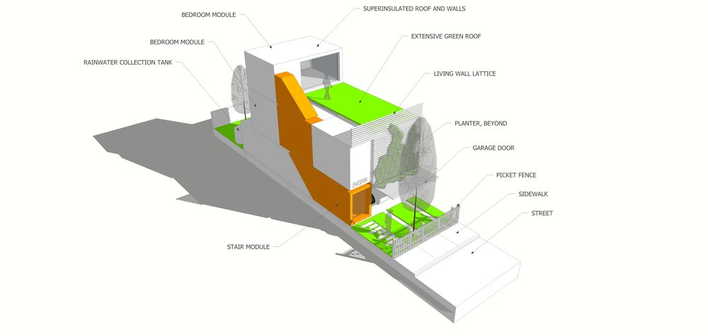 PREFABRICATED HOUSING STUDY WHOLE - OOMBRA ARCHITECTS