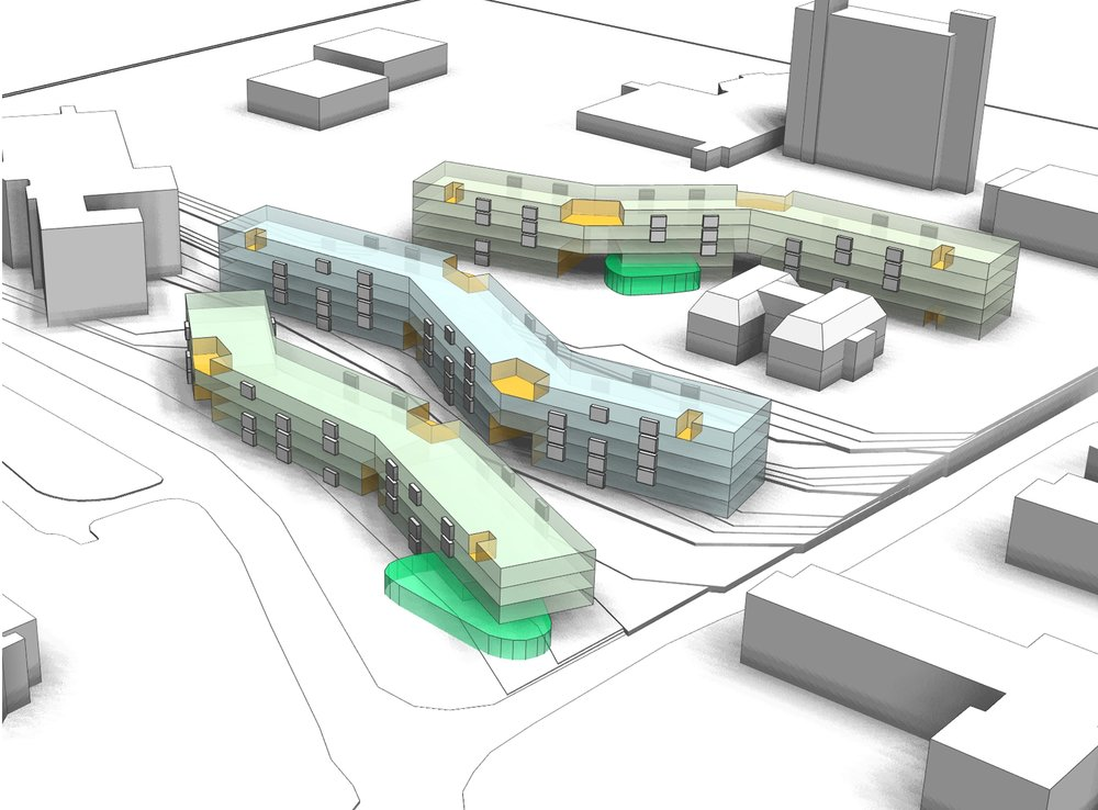 ACADEMIC HOUSING FEASIBILITY STUDY - OOMBRA ARCHITECTS ©