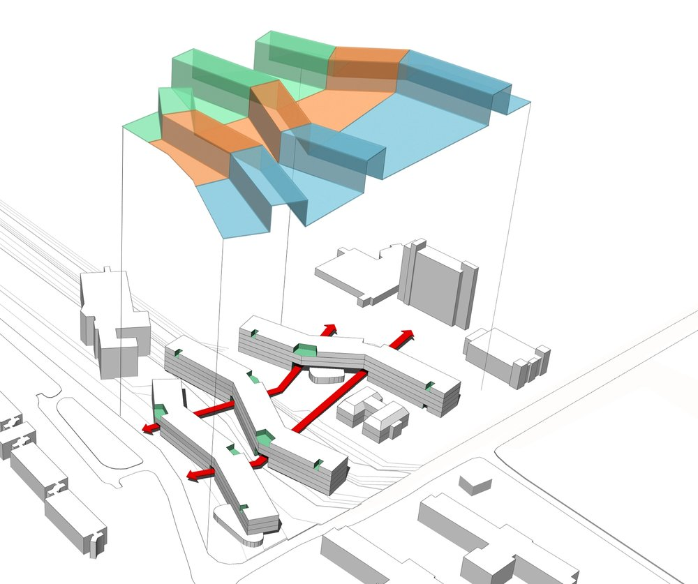 ACADEMIC HOUSING FEASIBILITY STUDY MATL AND ACCESS STUDY - OOMBRA ARCHITECTS ©