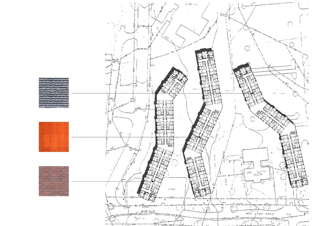 ACADEMIC HOUSING FEASIBILITY STUDY MATL PLAN STUDY - OOMBRA ARCHITECTS ©