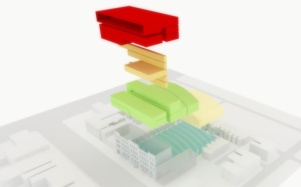 PERFORMING ARTS ADAPTIVE REUSE FEASIBILITY STUDY 2 - OOMBRA ARCHITECTS ©